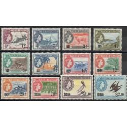 Vierges (Iles) - 1956 - No 126/137