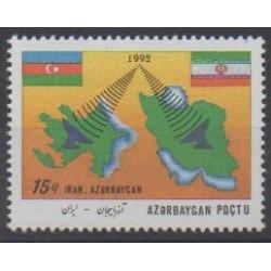 Azerbaïdjan - 1993 - No 115A - Télécommunications