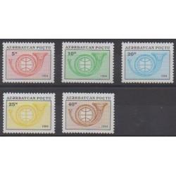 Azerbaijan - 1994 - Nb 144/148