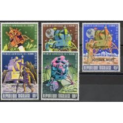 Togo - 1969- No 646/648 - PA 124/PA125 - Espace - Noël