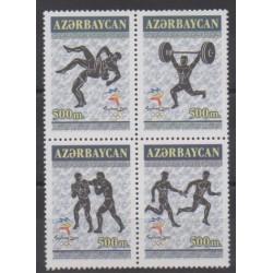 Azerbaijan - 2000 - Nb 406/409 - Summer Olympics