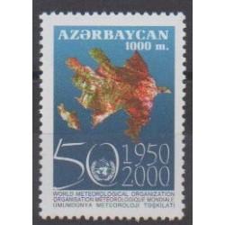 Azerbaijan - 2000 - Nb 401 - Science