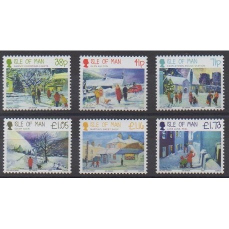 Man (Isle of) - 2012 - Nb 1837/1842 - Christmas
