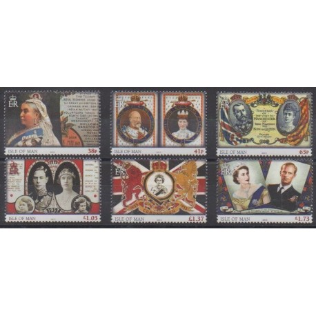 Man (Isle of) - 2013 - Nb 1851/1856 - Royalty