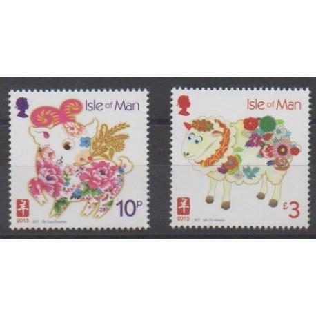 Man (Isle of) - 2015 - Nb 2026/2027 - Horoscope
