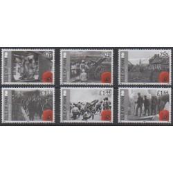 Man (Ile de) - 2015 - No 2036/2041 - Première Guerre Mondiale