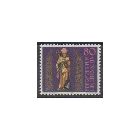 Lienchtentein - 1981 - Nb 716 - Religion