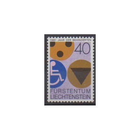 Liechtenstein - 1981 - No 715