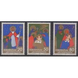 Liechtenstein - 1981 - No 729/731 - Noël