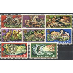 Hongrie - 1971- No 2152/2159 - Animaux