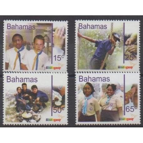 Bahamas - 2007 - Nb 1278/1281 - Scouts