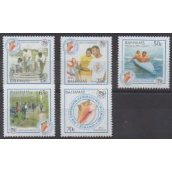 Bahamas - 2007 - Nb 1282/1286 - Childhood