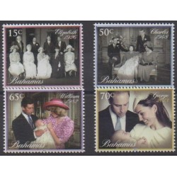 Bahamas - 2014 - Nb 1496/1499 - Royalty