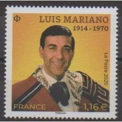 France - Poste - 2020 - No 5412 - Musique - Luis Mariano