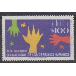 Chile - 1992 - Nb 1147 - Human Rights