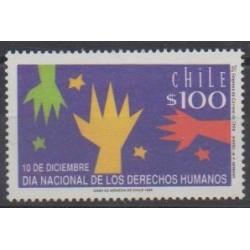 Chili - 1992 - No 1147 - Droits de l'Homme