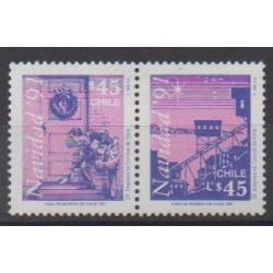 Chili - 1991 - No 1082/1083 - Noël
