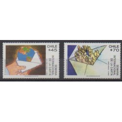 Chile - 1991 - Nb 1072/1073