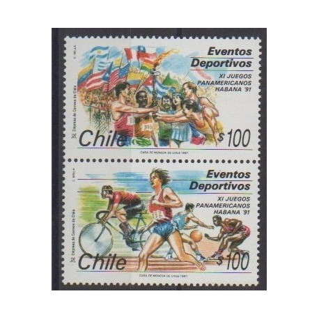 Chili - 1991 - No 1050/1051 - Sports divers