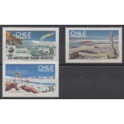 Chile - 1985 - Nb 699/701 - Polar