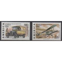 Chile - 1994 - Nb 1228/1229 - Postal Service