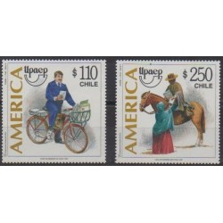 Chile - 1997 - Nb 1428/1429 - Postal Service