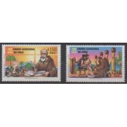 Chili - 1998 - No 1447/1448 - Religion