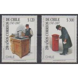 Chile - 1997 - Nb 1437/1438 - Postal Service