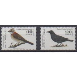 Chili - 1998 - No 1472/1473 - Oiseaux