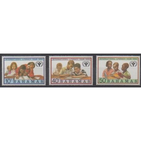 Bahamas - 1990 - No 708/710