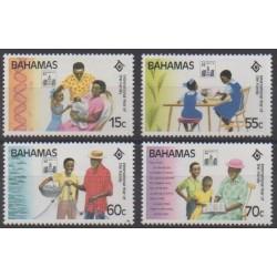 Bahamas - 1994 - No 813/816 - Philatélie