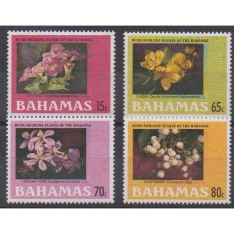 Bahamas - 2003 - Nb 1139/1142 - Flowers - Health