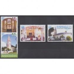 Bahamas - 2003 - Nb 1149/1152 - Churches