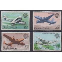 Bahamas - 1983 - Nb PA1/PA4 - Planes