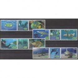 Bahamas - 2013 - No 1482/1489 - Vie marine - Environnement