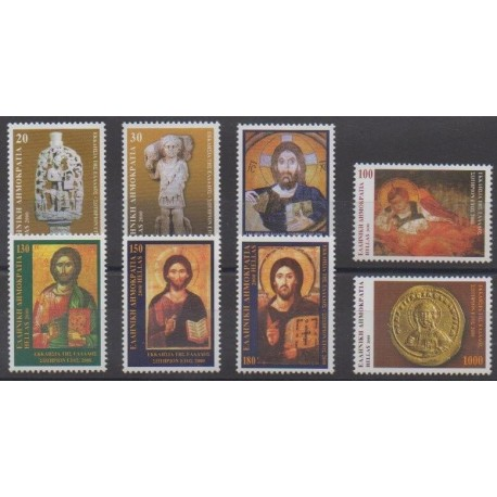 Grèce - 2000 - No 2039/2046 - Religion