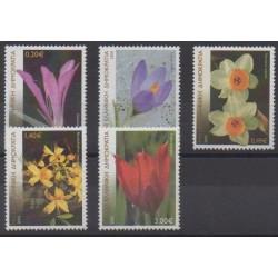 Grèce - 2005 - No 2256/2260 - Fleurs