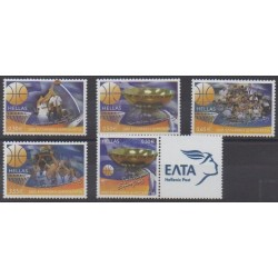 Grèce - 2005 - No 2291/2294A - Sports divers