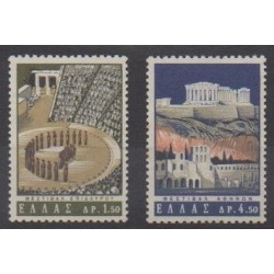 Greece - 1965 - Nb 853/854 - Folklore