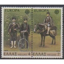 Grèce - 1979 - No 1330/1331 - Service postal - Europa