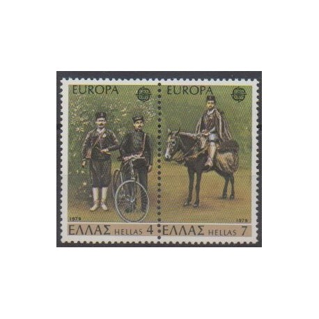 Greece - 1979 - Nb 1330/1331 - Postal Service - Europa