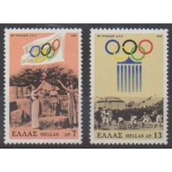 Greece - 1978 - Nb 1292/1293 - Summer Olympics