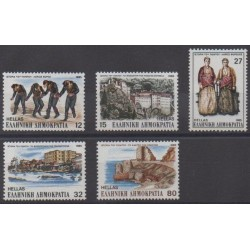 Greece - 1985 - Nb 1581/1585 - Various Historics Themes