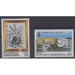 Greece - 1987 - Nb 1647/1648