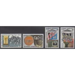 Greece - 1987 - Nb 1636/1639