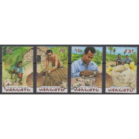 Vanuatu - 2003 - Nb 1160/1163 - Craft