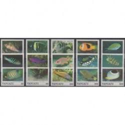 Vanuatu - 1987 - Nb 769/783 - Sea life