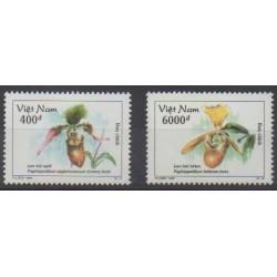 Vietnam - 1998 - Nb 1765/1766 - Orchids