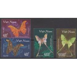 Vietnam - 1998 - No 1781/1784 - Insectes