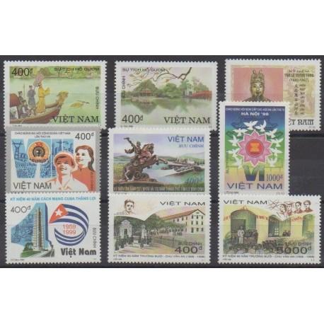 Vietnam - 1998 - Nb 1791/1797B